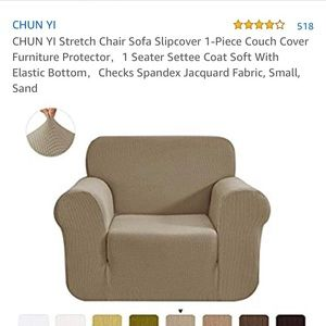Chair Slip Cover, Brand New